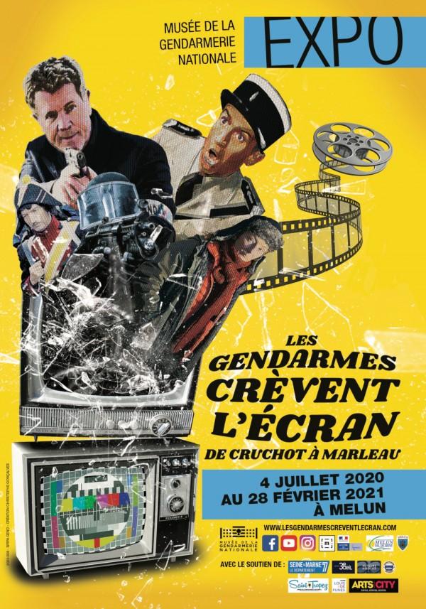 Les Gendarmes crèvent l'écran au Musée de la Gendarmerie Nationale