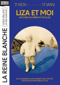 Liza et moi au Théâtre de la Reine Blanche