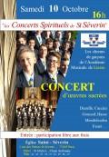 Les Chœurs de garçons de l'Académie maîtrisienne de Liesse en concert