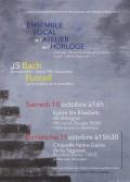 L'Ensemble vocal de l'Atelier de l'horloge et Juliette Regnaud en concert