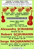Ensemble orchestral et solistes en concert