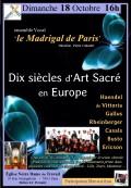 Le Madrigal de Paris en concert
