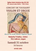 Natacha Triadou et Éric Lebrun en concert