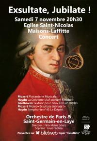 Orchestre de Paris et Saint-Germain-en-Laye et Laura Tabbaa en concert
