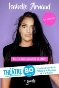 Isabelle Arnaud en rodage au Théâtre BO Saint-Martin