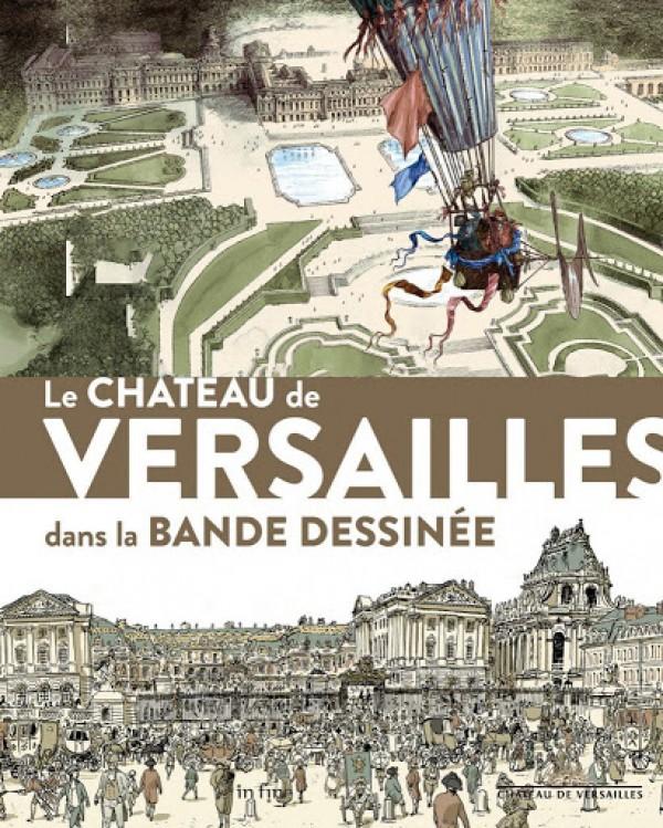 Le Château de Versailles dans la bande dessinée