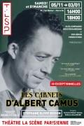 Les Carnets d'Albert Camus à La Scène Parisienne