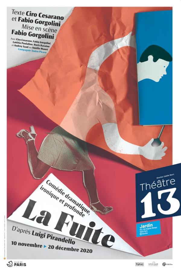 La Fuite au Théâtre 13