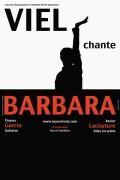 Viel chante Barbara au Théâtre L'Essaïon