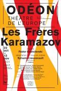Les Frères Karamazov à l'Odéon - Théâtre de l'Europe - Affiche