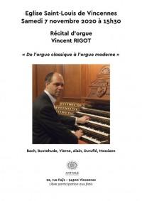 Vincent Rigot en concert
