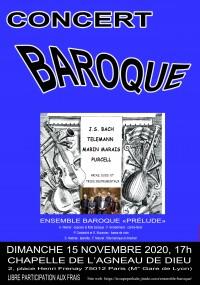 L'Ensemble Prélude en concert
