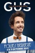 Gus illusionniste aux Folies Bergère