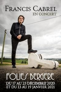 Francis Cabrel aux Folies Bergère