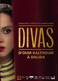 Exposition Les Divas du monde arabe : d'Oum Khaltoum à Dalida à l'Institut du Monde Arabe