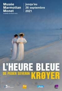Affiche de l'exposition L'Heure bleue de Peder Severin Krøyer au Musée Marmottan Monet