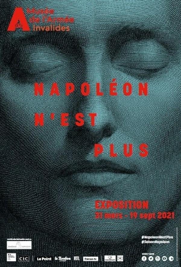 Exposition Napoléon n'est plus - Affiche