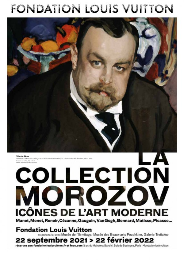 La Collection Morozov - Icônes de l'art moderne à la Fondation Louis Vuitton - Affiche