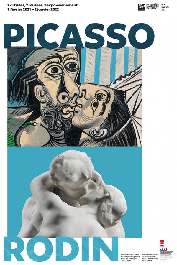 Exposition Picasso-Rodin - Affiche