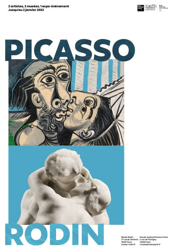 Exposition Picasso-Rodin - Visuel