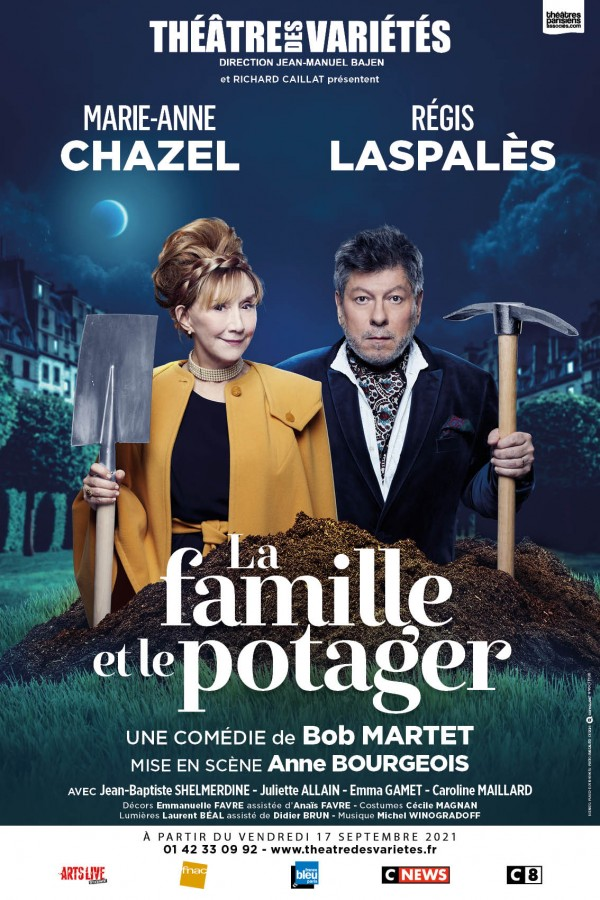 La Famille et le potager au Théâtre des Variétés