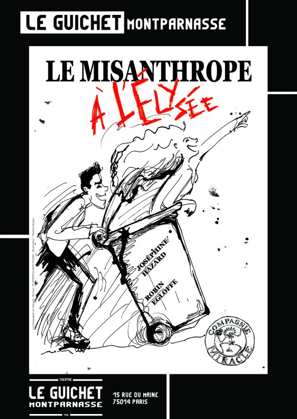 Le Misanthrope à l'Élysée au Guichet-Montparnasse