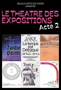 Affiche de l'exposition Le Théâtre des expositions