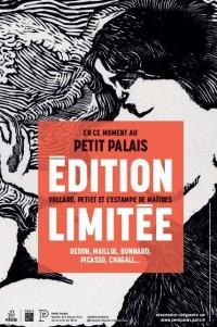 Affiche de l'exposition Édition limitée au Petit Palais