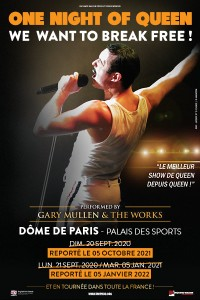 « One Night of Queen » au Palais des Sports