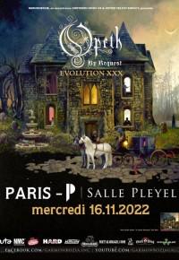 Opeth salle Pleyel