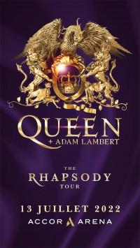 Queen et Adam Lambert à l'Accor Arena