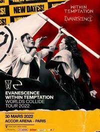 Within Temptation & Evanescence à l'Accor Arena