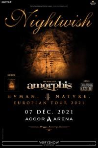 Nightwish à l'Accor Arena