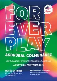 Asdrúbal Colmenárez, Forever play au Musée en Herbe