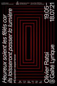 Affiche de l'exposition Olivier Ratsi