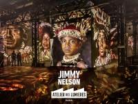 Jimmy Nelson, The Last Sentinels à l'Atelier des Lumières