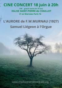Ciné-concert « L'Aurore »