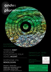 L'Orchestre Ondes Plurielles et solistes de l'Orchestre Colonne en concert