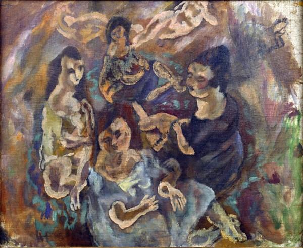 Jules Pascin, Les Petites Américaines, 1916