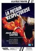 Affiche La putain respectueuse - À la Folie Théâtre