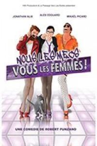 Affiche Vous les femmes - Théâtre Le Passage vers les Étoiles