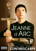 Affiche Jeanne d'Arc - Théâtre de la Contrescarpe