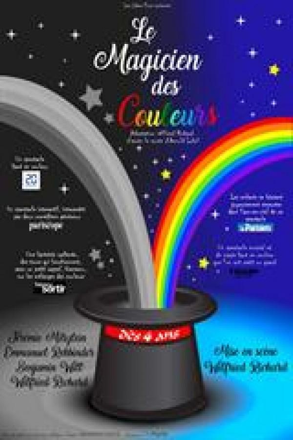 Affiche Le magicien des couleurs - Comédie Oberkampf