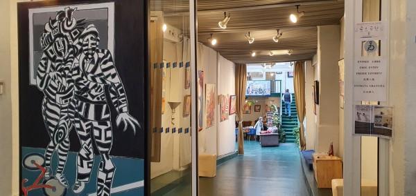 """Exposition """"Le carnaval de Maastricht"""" Henri LANDIER à l'Atelier d'Art Lepic"""