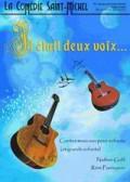 Affiche Il était deux voix - Comédie Saint-Michel
