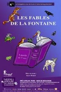 Affiche Les fables de La Fontaine - Théâtre de verdure du Jardin Shakespeare