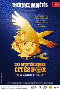 Affiche Les Mystérieuses Cités d'or - Théâtre des Variétés