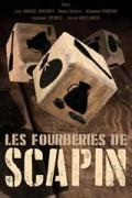 Affiche Les fourberies de Scapin - Comédie Tour Eiffel