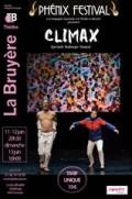 Affiche Compagnie Zygomatic - Climax - Théâtre La Bruyère