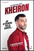 Affiche Kheiron - On n'éteindra pas la lumière... - L'Européen